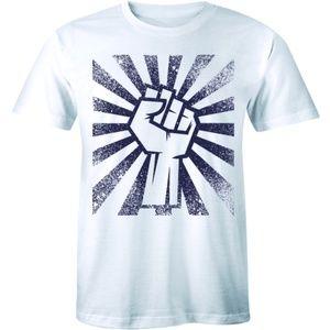Raised Fist Unity Symbol Peaceful Protest T-shirt